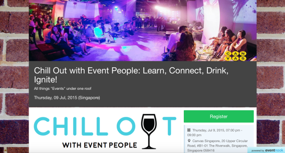 EventNook Chill Out event page