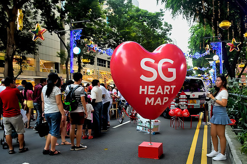 SG Heart Map, SG50, singapore events