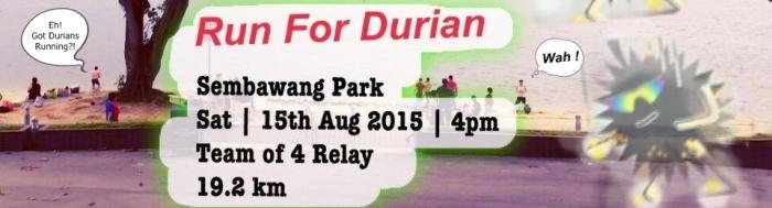 durian run