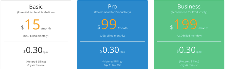 eventnook pricing