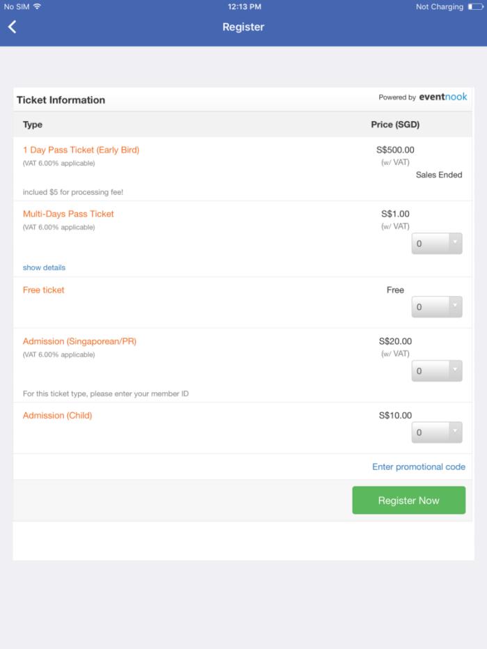 QR code check-in – EventNook
